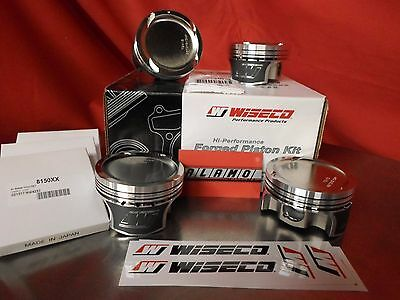 Wiseco Forged TURBO  Pistons K672M815AP Honda Civic R18A 81.5mm