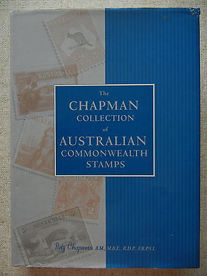 THE CHAPMAN COLLECTION of AUSTRALIAN COMMONWEALTH STAMPS Hard Cover
