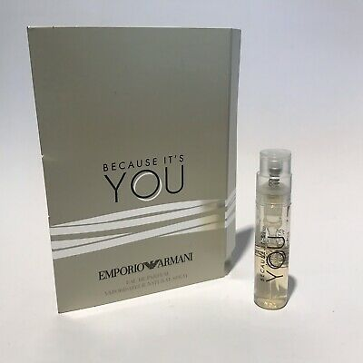 Armani Because It's YOU parfum sample 1,2ml