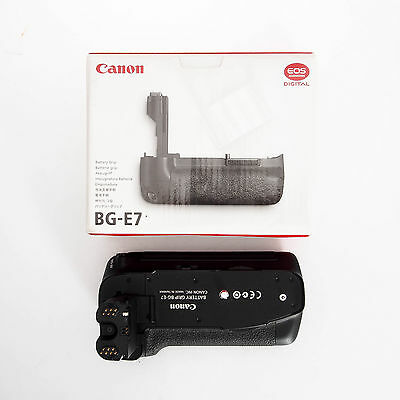 Canon BG-E7 Vertical Battery Grip for EOS 7D 3815B001 in Box