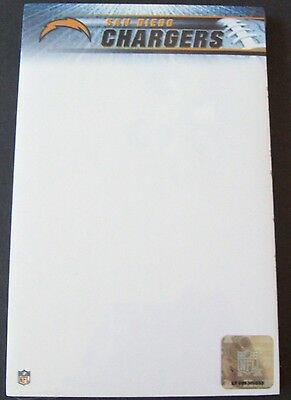 Turner Stationary NFL Football San Diego Chargers Two Pack Notepad Item 8170402