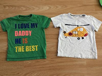 Next T-shirt Tops Helicopter Daddy 12-18 Months