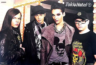 Tokio Hotel Poster + Michael Jackson Poster on back