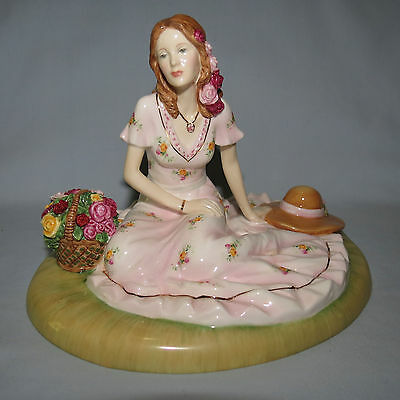 Royal Albert Old Country Rose Figure Of Year 2012 Summer Rose Ra27