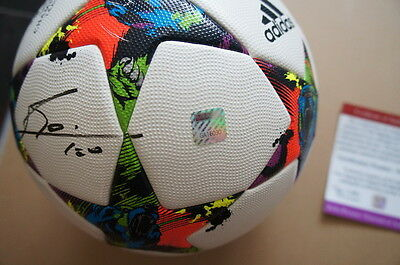 Signiert Lionel Messi Autographed Adidas Final Champions Ligue Matchball Signed