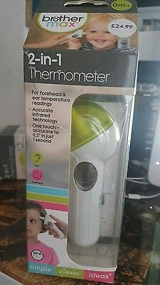 Brother Maxx 2-in-1 Digital Thermometer, Brand New