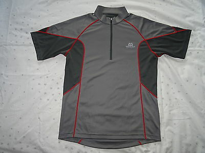 Mountain Equipment Crux SS zip tee base layer large