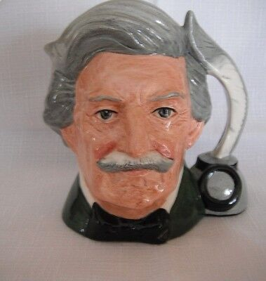 Royal Doulton Mark Twain Toby Jug