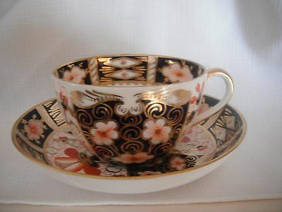 Royal Crown Derby Imari Cups And Saucers