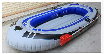 2 Person Water-proof Grey+Blue Length 190CM Width 105CM Inflatable Boat *