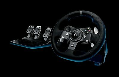 *New* Logitech G920 Driving Force Racing Steering Wheel & Pedals for PC&Xbox One