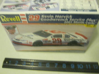 Revell Kevin Harvick 29 Goodwrench Service Plus 2001 Monte Carlo 1/25 Sealed