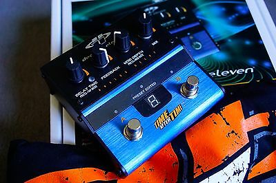 Decibel Eleven - Time After Time - Analog Delay mit Tap Tempo und Presets