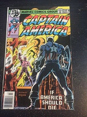 Captain America#231 Awesome Condition 8.0(1978) Buscema Art