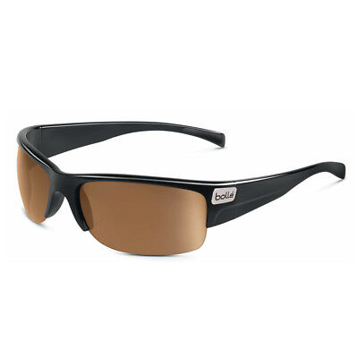New Bolle Folds Of Honor Zander Sunglasses Shiny Black Modulator V3