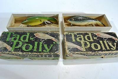 Pair of Heddon Tadpollys in intro boxes