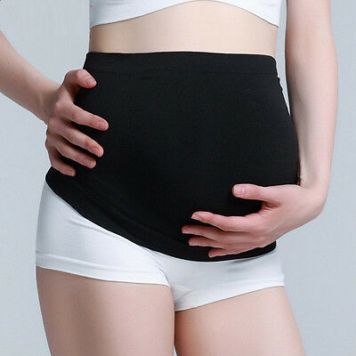 Sale Ex Store Belly Band Maternity Pregnancy Support Pant Extender black