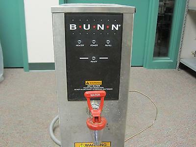 Bunn Commercial Hot Water Dispenser 208V Stainless Steel 5 Gallon H5X-40-208