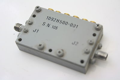 Microwave RF BandPass Filter BPF 6 poles 1.2-1.4GHz  Insertion Loss<1.1dB TESTED