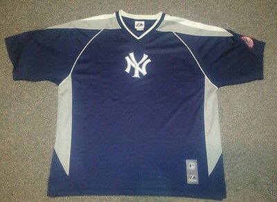NY New York Yankees Jersey Shirt Majestic size XL MLB Baseball