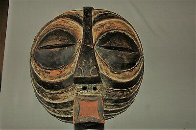 African Mask From the Congo area Luba Tribe