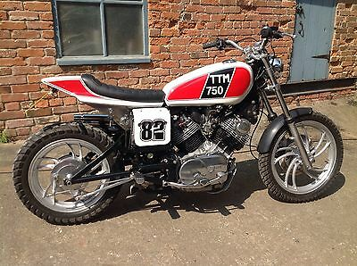 Yamaha 750 V twin Flat tracker Streetracker custom