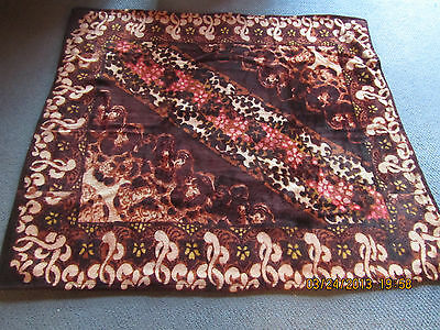 """Chase Carriage Blanket, 51"""" X 57"""", excellent condition, antique."""