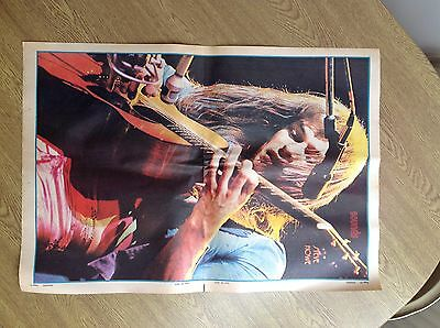 Yes / ChrisSquire & Steve Howe-  Vintage Sounds Magazine posters from 1973