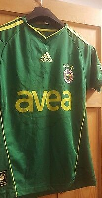 Fenerbahce football shirt ADIDAS size XS ULKER