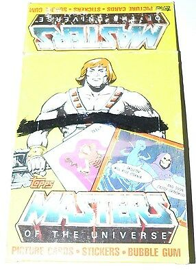 Masters of the Universe Empty Card Box.