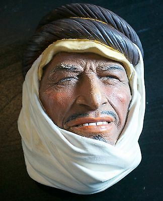 Bossons England Chalkware Bedouin  England Wall Plaque