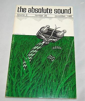 The Absolute Sound Volume 5 Number 20 December 1980 Buy 2 Get 1 Free!!