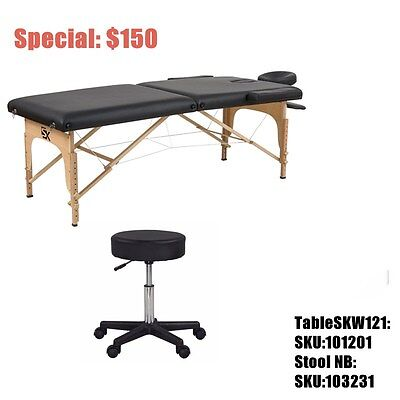 Super value Massage table and stools Bundle SETUP Packages