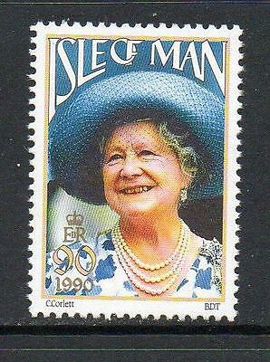 Isle Of Man Mnh 1990 Sg448 90Th Birthday Of Queen Mother