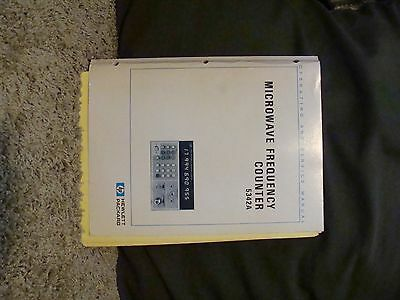 Agilent / HP 5342A Microwave Frequency Counter Operating and Service Manual