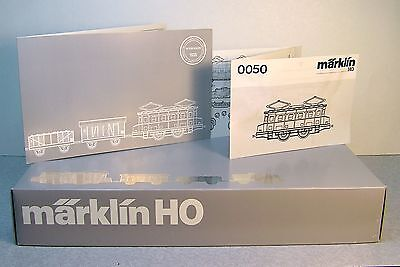 Marklin Electric Goods (Freight) Set from the 50th Anniversary 0050 Twin Set