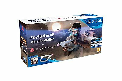 Brand New Sealed Sony PS4 Farpoint VR + Aim Controller PSVR