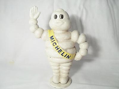 Large Cast Iron Michelin Man Bibendum Advertising Coin Money Bank Tire Giveaway