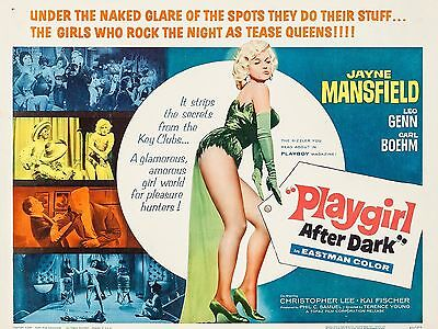 "Playgirl after Dark 16"" x 12"" Reproduction Movie Poster Photograph"