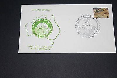 Aust 1986 Cataract Nsw 14Th Aust Jamboree Souvenir  First Day Cover