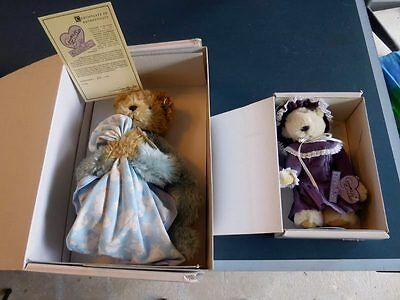 "Annette Funicello Collector Bears 15"" & 9"" Christian Dreamkeeper W/Box Free Ship"