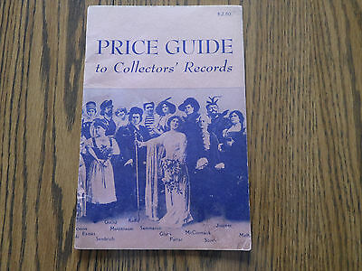 Price Guide For Collectors Records 1952