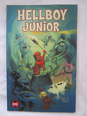 Hellboy Junior Paperback Comic Book Signed By Author!