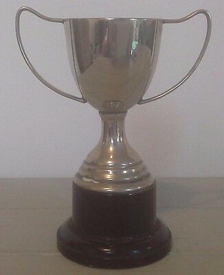 Vintage silver trophy, silver, trophy, sporting trophy, trophies, NOT ENGRAVED
