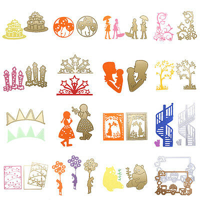 Metal Cutting Dies Stencils DIY Scrapbooking Album Card Paper Embossing Craft