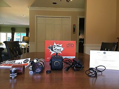 Digital Bolex D16 Cinema Camera, 1TB Internal SSD, 18-86mm & 25mm C-Mount Lenses