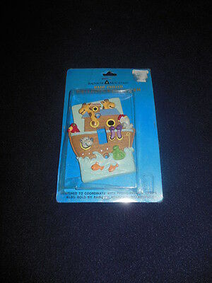 New Rainbow Mountain Noahs Ark Switchplate Cover Hand Painted Great for Baby and