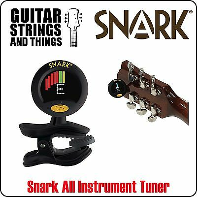 Snark Super Tight Clip On Chromatic Tuner. Tunes All Guitars & All Instruments