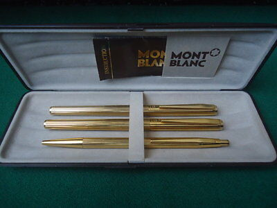 Set Montblanc fountain pen, pen and pencil 70 years