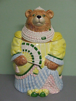 RARE/HTF Sigma Lady Squeezy Beauchamp from The Last Elegant Bear Cookie Jar